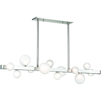 Picture for category Island Lighting 12 Light With Polished Nickel Finish LED Bulbs 11 inch 36 Watts