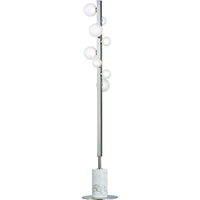Picture for category Floor Lamps 8 Light With Polished Nickel Finished LED Bulb Type 64 inch 24 Watts