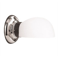 Picture for category Bathroom Vanity 1 Light With Polished Nickel Finished A19 Bulbs 5 inch 60 Watts