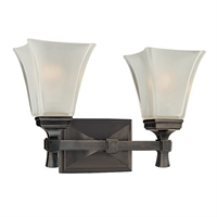 Picture for category Bathroom Vanity 2 Light With Old Bronze Finished A19 Bulb Type 15 inch 200 Watts