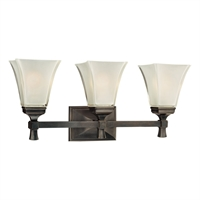 Picture for category Bathroom Vanity 3 Light With Old Bronze Finished A19 Bulb Type 23 inch 300 Watts