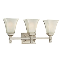 Picture for category Bathroom Vanity 3 Light With Polished Nickel Finish A19 Bulbs 23 inch 300 Watts
