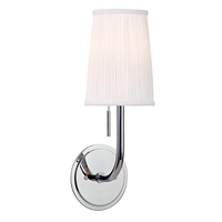 Picture for category Wall Sconces 1 Light With Polished Chrome Finished Medium Bulbs 6 inch 60 Watts