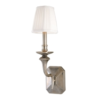 Picture for category Wall Sconces 1 Light With Old Nickel Finish Candelabra Base Bulbs 5 inch 60 Watts
