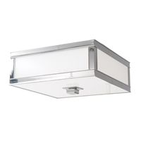 Picture for category Flush Mounts 3 Light With Polished Nickel Finish A19 Bulb Type 16 inch 180 Watts