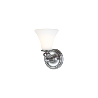 Picture for category Bathroom Vanity 1 Light With Polished Nickel Finished A19 Bulbs 6 inch 100 Watts