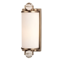 Picture for category Bathroom Vanity 1 Light With Brushed Bronze Tone Finish A19 Medium Base Bulb 5 inch 0 Watt