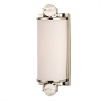 Picture for category Bathroom Vanity 1 Light With Polished Nickel Tone Finish A19 Medium Base Bulb 5 inch 0 Watt