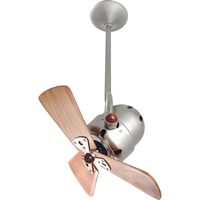Picture for category Matthews Fan Company BD-BN-WD-DAMP Indoor Ceiling Fans Brushed Nickel High Gauge Steel/Aluminum Bianca Direcional