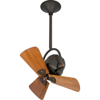 Picture for category Matthews Fan Company BD-BZ-WD Indoor Ceiling Fans Bronze High Gauge Steel/Aluminum Bianca Direcional