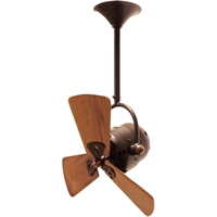 Picture for category Matthews Fan Company BD-BZZT-WD Indoor Ceiling Fans Bronzette High Gauge Steel/Aluminum Bianca Direcional
