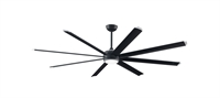 Picture for category Fanimation Fans B7993-84BLW Indoor Ceiling Fans Siler with Black Tip Stellar Set of 8 Fan Blade