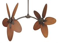 Picture for category Fanimation Fans CABPP4BR Indoor Ceiling Fans Brown Caruso Set of 10 Fan Blade
