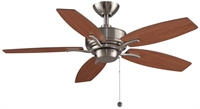 Picture for category Fanimation Fans FP6244BN Indoor Ceiling Fans Brushed Nickel Aire Deluxe