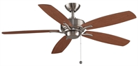 Picture for category Fanimation Fans FP6284BN Indoor Ceiling Fans Brushed Nickel Aire Deluxe