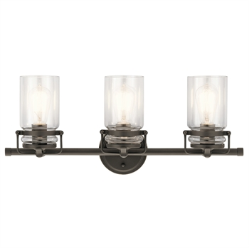 Picture of Kichler Lighting 45689OZ Bath Lighting Olde Bronze Steel Brinley