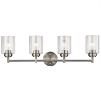 Picture for category Kichler Lighting 45887NI Bath Lighting Brushed Nickel Steel Winslow