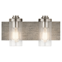 Picture for category Kichler Lighting 45927CLP Bath Lighting Classic Pewter Steel Dalwood