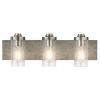 Picture for category Kichler Lighting 45928CLP Bath Lighting Classic Pewter Steel Dalwood