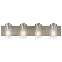 Picture for category Kichler Lighting 45929CLP Bath Lighting Classic Pewter Steel Dalwood