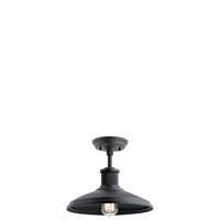 Picture for category Kichler Lighting 49982BKT Semi Flush Textured Black Epmm Allenbury