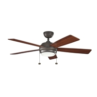 Picture for category Indoor Ceiling Fans 1 Light With Olde Bronze Finished MNCN Bulb 52 inch 75 Watts