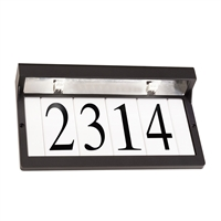 Picture for category RLA Kichler RL-123284 Outdoor Accessory Textured Black Aluminum Address Light