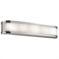 Picture for category Bathroom Vanity 6 Light With Chrome Finish Steel Drum Material 30 inch 174 Watts