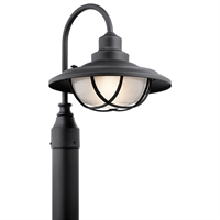 Picture for category Outdoor Post 1 Light With Textured Black Finish Aluminum Medium 13 inch 100 Watts