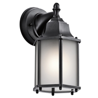 Picture for category RLA Kichler RL-124861 Wall Sconces Black Cast Aluminum Chesapeake