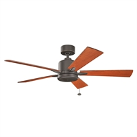 Picture for category Indoor Ceiling Fans Light With Olde Bronze Tone Finished Steel Material 52 inch