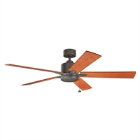 Picture for category Indoor Ceiling Fans Light With Olde Bronze Tone Finished Steel Material 60 inch