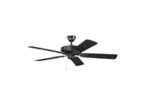 Picture for category RLA Kichler RL-125384 Indoor Ceiling Fans Satin Black Basics Reisited