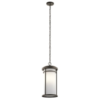 Picture for category Outdoor Pendant 1 Light With Olde Bronze Finish Aluminum Medium 10 inch 150 Watts