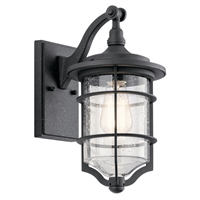 Picture for category Wall Sconces 1 Light With Distressed Black Finish Aluminum Medium 7 inch 100 Watts