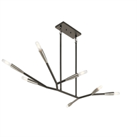 Picture for category Chandeliers 7 Light With Black Finish Steel Drum Material Medium 25 inch 420 Watts
