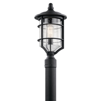 Picture for category Outdoor Post 1 Light With Distressed Black Finish Aluminum Medium 10 inch 150 Watts