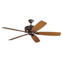 Picture for category RLA Kichler RL-260047 Indoor Ceiling Fans Oil Brushed Bronze Steel Monarch