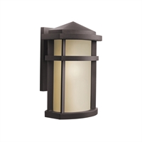 Picture for category Wall Sconces 1 Light With Architectural Bronze Finish Medium Bulb 9 inch 100 Watts