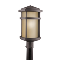 Picture for category Outdoor Post 1 Light With Architectural Bronze Finish Medium Bulb 11 inch 150 Watts