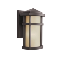 "Picture for category Wall Sconces 1 Light Fixtures With Architectural Bronze Finish Medium Bulb Type 7"" 75 Watts"