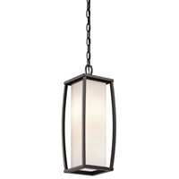 Picture for category Outdoor Pendant 2 Light With Architectural Bronze Finish Medium Bulb 7 inch 200 Watts