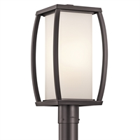 Picture for category Outdoor Post 1 Light With Architectural Bronze Finish Medium Bulb 9 inch 150 Watts