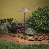 Picture for category Outdoor Pendant 1 Light With Textured Tannery Bronze Finish WED8 Bulb 8 inch 24.4 Watts