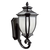 Picture for category Wall Sconces 1 Light With Black Tone Finished Medium Base Bulb 10 inch 150 Watts