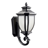 Picture for category Wall Sconces 1 Light With Black Tone Finished Medium Base Bulb 8 inch 100 Watts