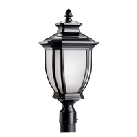 Picture for category Outdoor Post 1 Light With Black Tone Finished Medium Base Bulb 10 inch 150 Watts
