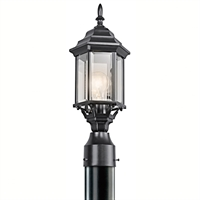 Picture for category RLA Kichler RL-64212 Outdoor Post Light Black Chesapeake