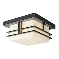 Picture for category Outdoor Wall Sconces 2 Light With Black Finish Medium Base Bulb 12 inch 120 Watts