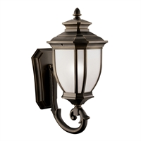 Picture for category Wall Sconces 1 Light With Rubbed Bronze Finish Medium Base Bulb 12 inch 200 Watts